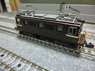「ワールド工芸 岳南鉄道 ED403 完成品」側面②