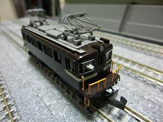 「ワールド工芸 岳南鉄道 ED403 完成品」ちょい斜め