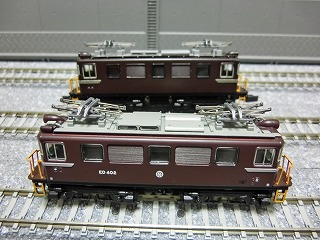 ED403とED402 側面の比較