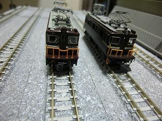 ED403とED402 前面の比較