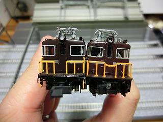 ED403とED402 前面の比較④