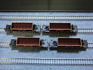 近江鉄道ホキ10形風 ホッパー車