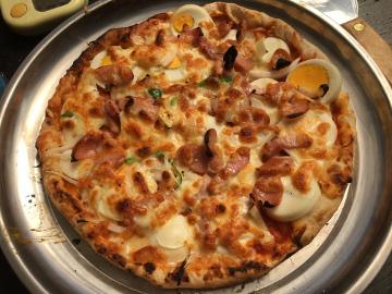 ピザ焼きとレンゲ7