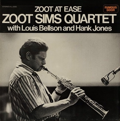 Zoot Sims Zoot At Ease Famous Door HL 2000