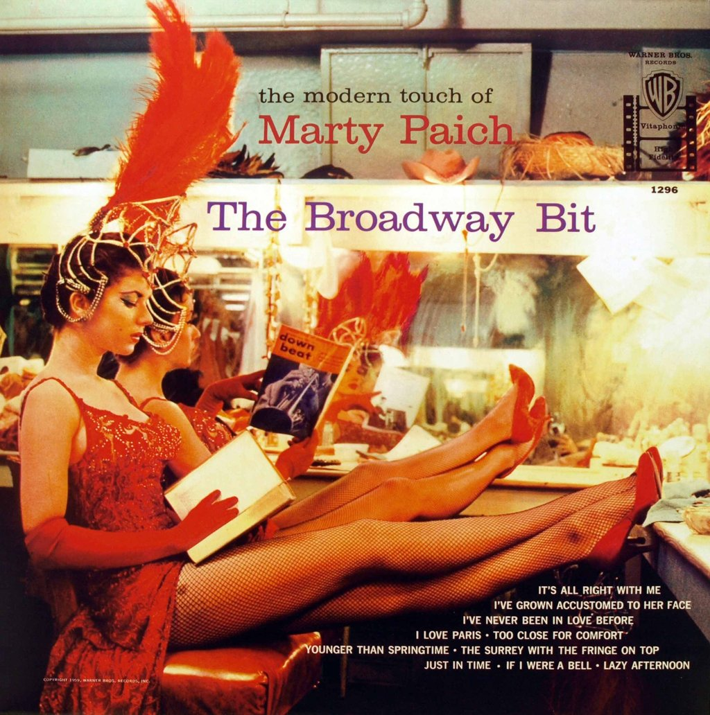 Marty Paich The Broadway Bit Warner Bros WS 1296