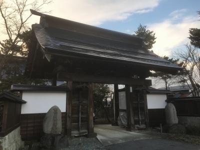 長源寺の山門(伝・移築門)