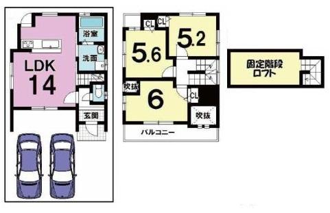 4180 新築 松尾木ノ曾町 101.71 (ドリームホーム桂)