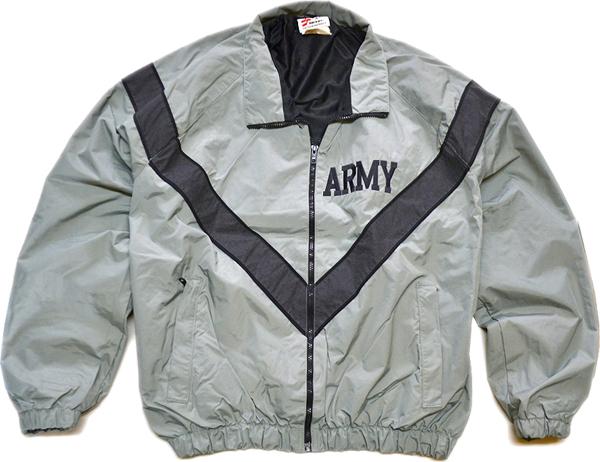 ARMYナイロンブルゾンミリタリージャケット画像@古着屋カチカチ01