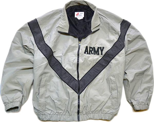 ARMYナイロンブルゾンミリタリージャケット画像@古着屋カチカチ03
