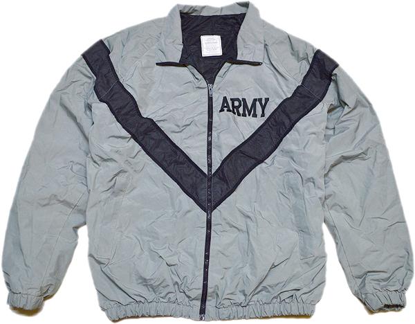 ARMYナイロンブルゾンミリタリージャケット画像@古着屋カチカチ05