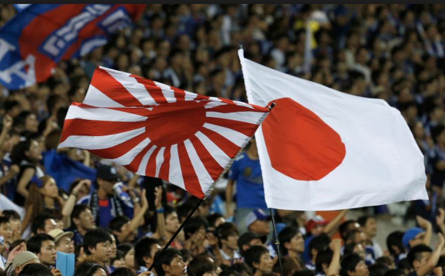 「外国人 ラグビー 旭日旗」の画像検索結果