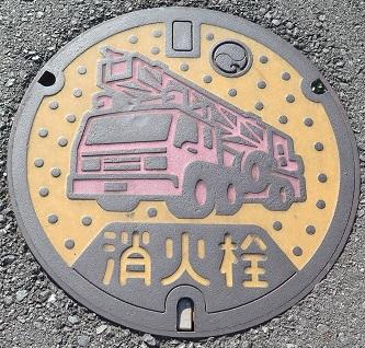 浜松 消火栓マンホール