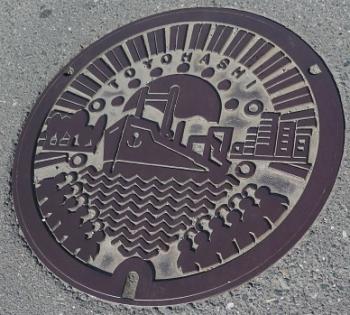 愛知県豊橋市マンホール