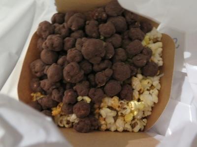 チョコポップコーン