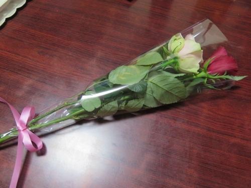 結婚記念日のバラ
