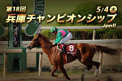 【競馬予想】第18回兵庫チャンピオンシップ(JpnⅡ) 園田・ダート1870m