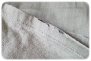シミのついた服