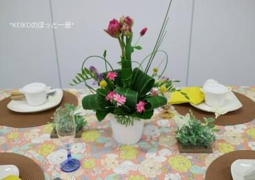 春爛漫なテーブルコーディネート2