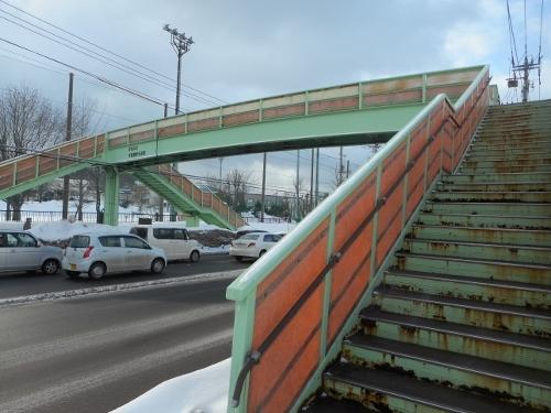 手稲横断歩道橋