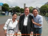 平原真作・眞智子夫妻と浩一 175 123