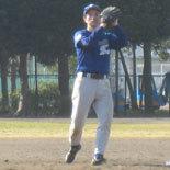 2番手でマウンドに上がった田中