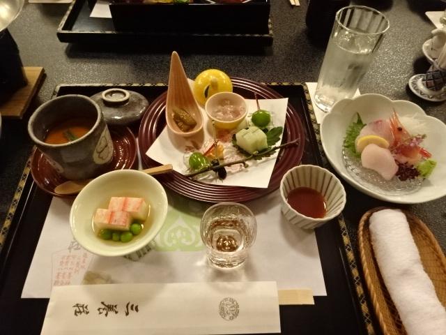 三養荘 夕食1