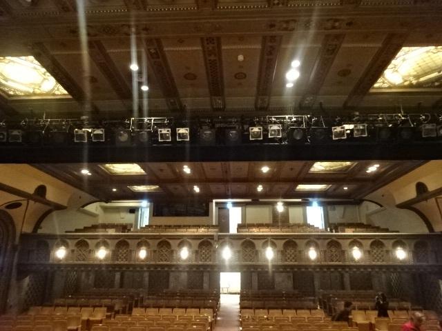 三越劇場 舞台から