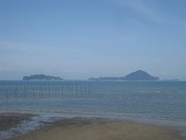 国東半島から姫島をのぞむ