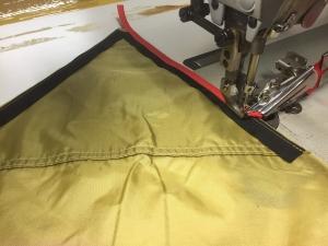 日本製バイアステープ縫い