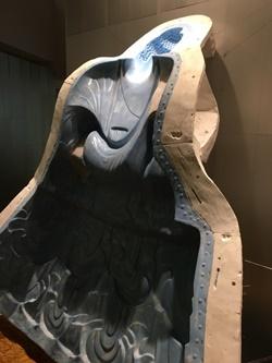 中尊石膏型 ゴム型