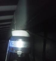 天井裏感知器作動試験 小林消防設備