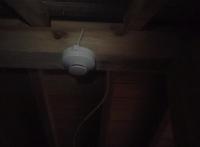 天井裏感知器 光電式スポット型感知器 小林消防設備