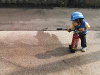 訓練 水消火器 小林消防設備