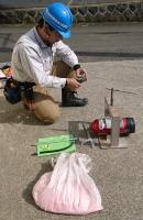 消火器内部点検 蓄圧式