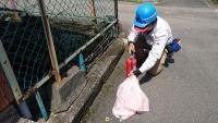 蓄圧式粉末消火器 放射能力試験 小林消防設備 小林消防設備士