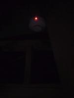 天井裏感知器作動状況 光電式スポット型 感知器 小林消防設備