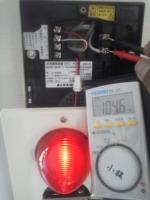 非常警報設備 電圧測定