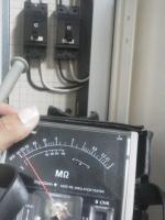 配線点検 絶縁抵抗測定 小林消防設備