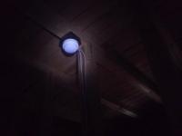 天井裏の感知器 差動式スポット型 小林消防設備