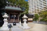 神戸市営住宅ベルデ名谷。入口近くにある古くからの社