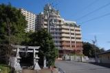 神戸市営住宅ベルデ名谷入口