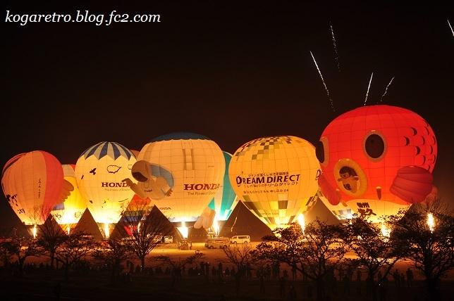 気球と花火2
