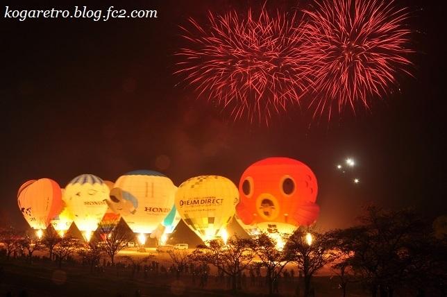 気球と花火3