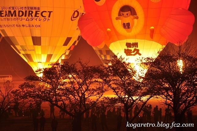 気球と花火5