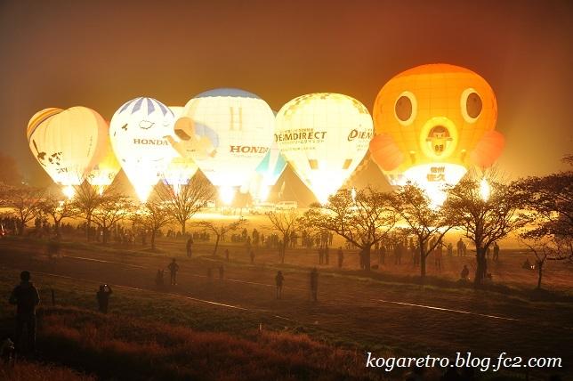 気球と花火7