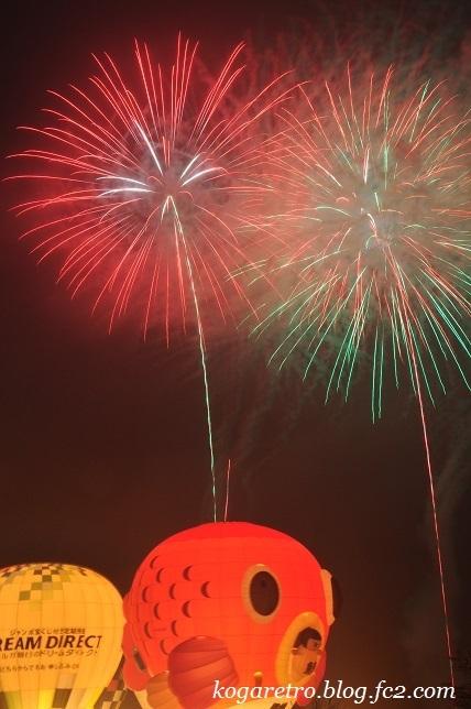 気球と花火6