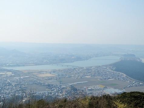 鏡山展望台☆