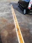 2017年4月2日・駐車場の白線2