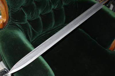 はやぶさの剣刀身ほぼ完成