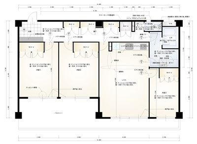 3階 平面図